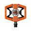 Crankbrothers Double Shot Pedal orange/schwarz